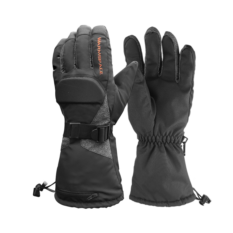 Motorcycle Electric Warm Winter Heated Gloves Waterproof Touch Screen Battery Powered Gloves For Riding Ski Cycling New