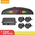 Автомобильный комплект светодиодных датчиков парковки 4 Датчики 22 мм Подсветка Дисплей обратный резервный радар парковки мониторы Системы...
