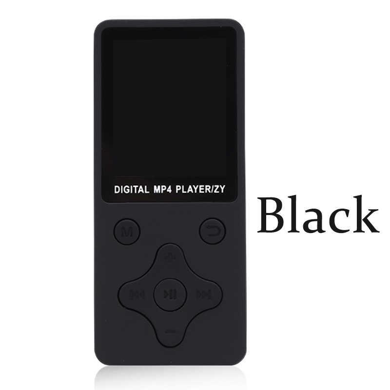 Mini Digital MP4 Portable Walkman Music Player MP4 Support English 13 Multi-lingual 32G TF Radio FM TXT E-book Photo Viewer MP5