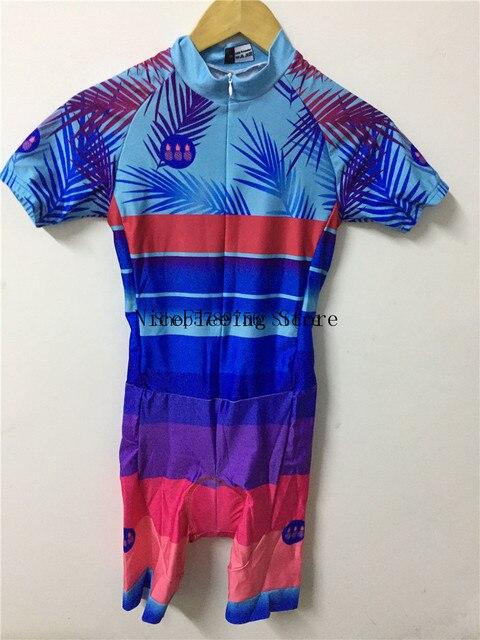 2020 mulher triathlon ciclismo skinsuit verão manga curta roupa de banho personalizado bicicleta onesies triathlon terno cor brilhante macacão 5
