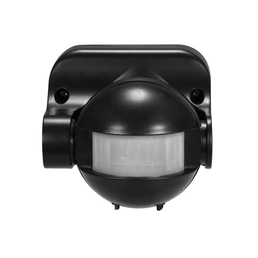 Güvenlik ve Koruma'ten Sensör ve Dedektör'de AC 110 V 240 V PIR Kızılötesi Hareket Sensörü Anahtarı 180 Derece Hareket Algılama Gecikme Süresi Ayarlanabilir Su Geçirmez açık Kapalı title=