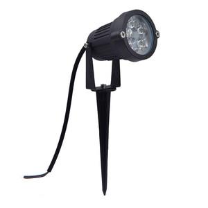 Image 4 - 9W עמיד למים ספייק נוף LED אור 12V 5X2W 220V נוף ספוט אור IP65 חיצוני נוף LED ספייק אור עבור גן