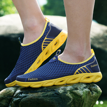 Summer Men/Women Breathable Light Weight Mesh Sneakers Healthy Walking Shoes Outdoor Antislip Sport Running Shoes crocodile summer women height beach sneakers outdoor soft walking shoes women leisure sandals femme light cushion sport shoes