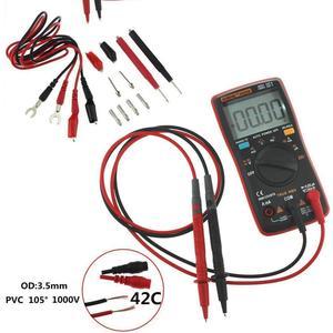 ANENG AN8008 True-RMS Digital-Multimeter 9999 zählt Platz Welle Hintergrundbeleuchtung AC DC Spannung Amperemeter Strom Ohm Auto/ manuelle