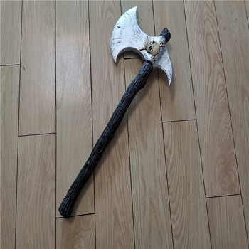 Cosplay 1:1 Skull Pirate  Axe Prop Halloween Movie Game Anime Weapons Role Playing PU 65CM Model Festival Gift