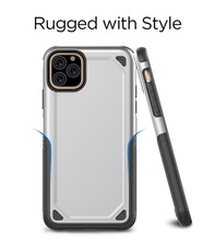 Hybird Armor Phone Case for IPhone11 Pro Case New Anti-knock Protective Case for Iphone X XS XR XS Max Coque 8 7 6 6S Plus Funda iphone case for iphone x xs xr xs max 8 7 6 6s plus iphone11 iphone11 pro iphone 11 pro max luxury square soft leather kickstand