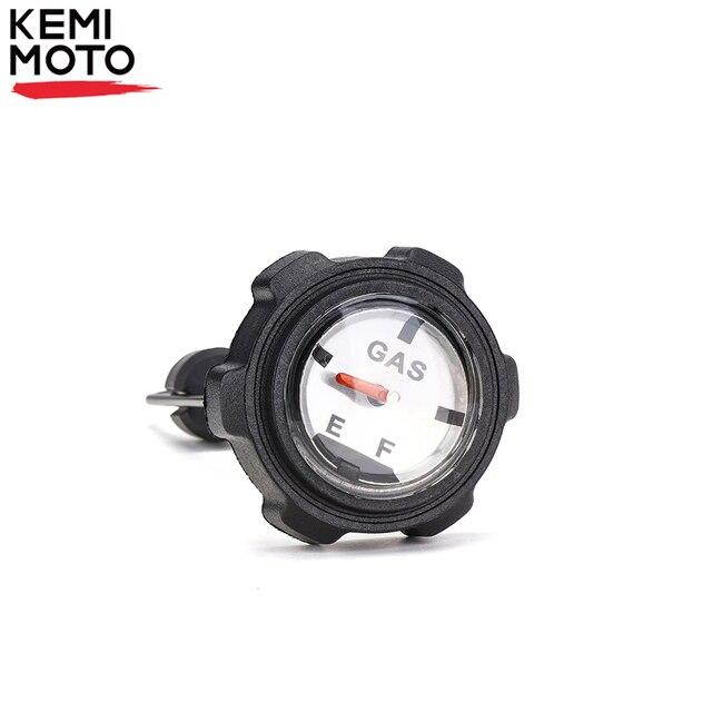 Kemimoto atv黒燃料タンクゲージガスキャップポラリスマグナムトレイルボスatp 330 2004 2009 2005 2006 2007 2008 アクセサリー