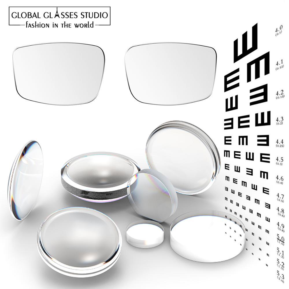 Anti-reflexivo à Prova de Riscos Melhor Óculos Lentes Quadro Configuração rx Miopia Leitura Fotocromática Revestimento Hmc Lf01