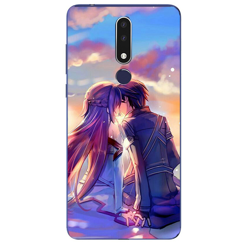 Sword Art Online Anime Manga Painting Case For Alcatel 1 1C 1B 1S 1V 1X 3 3C 3L 3V 3X 2019 2020 Phone Silicone Cover