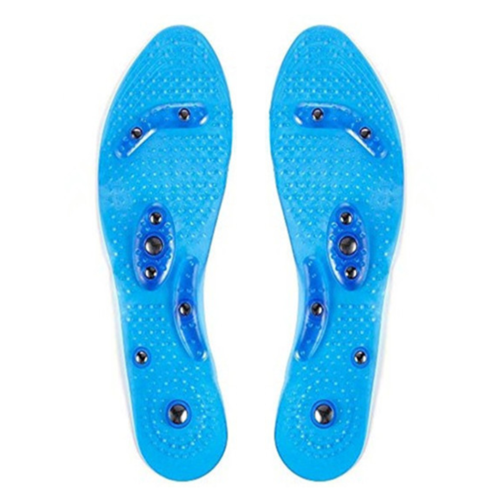 1 пара комфортных эластичных силиконовых подушечек для ног, забота о здоровье, магнитная терапия, гелевая стелька, снимающая усталость