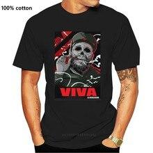Fidel Castro T-Shirt Designer Viva Revolucion Che Geschenk Präsentieren Unisex T-shirt Neue Kurzarm Casual T-Shirt T