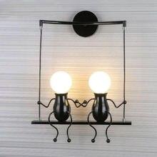 Современная Модная креативная настенная лампа светодиодная прикроватная