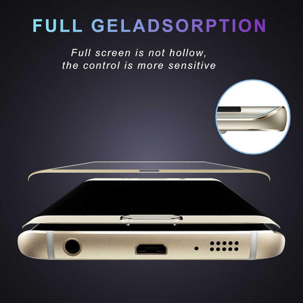 Afy 20D Melengkung Tempered Glass untuk Samsung S8 Plus S9 Plus S6 Edge Plus S7 Tepi Pelindung Kaca Film untuk note 8 9 S7 S8 S9 S6