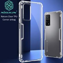 Nillkin Case For Xiaomi Mi 10T Mi10T Pro Nature Transparent Clear TPU Crystal Silicone Cover
