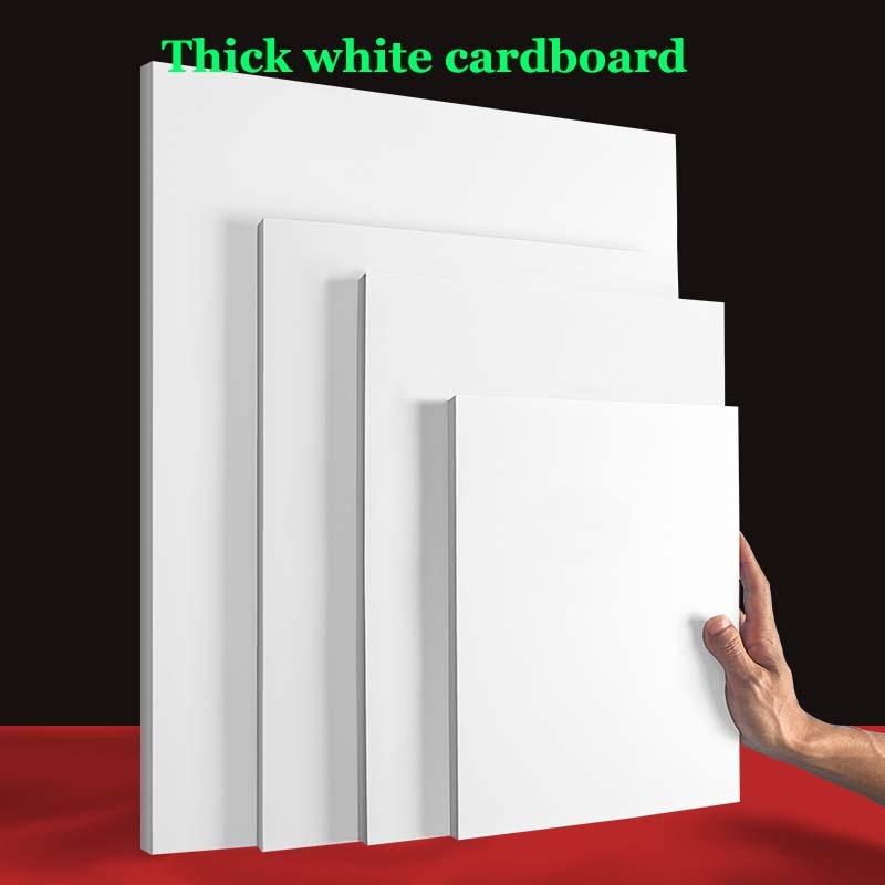 50pcs/lot A3 A4  White Kraft Paper DIY Card Making 120g 180g 230g 300g Craft Paper Thick Paperboard Cardboard