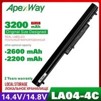 14.8V Bateria Do Portátil Para HP LA04 LAO4 Pavilion 14 n000 14 n274tx 15 n000 15 P151 ProBook 350 G2 HSTNN I30C HSTNN I31C HSTNN IB6U|Baterias p/ laptop| |  -