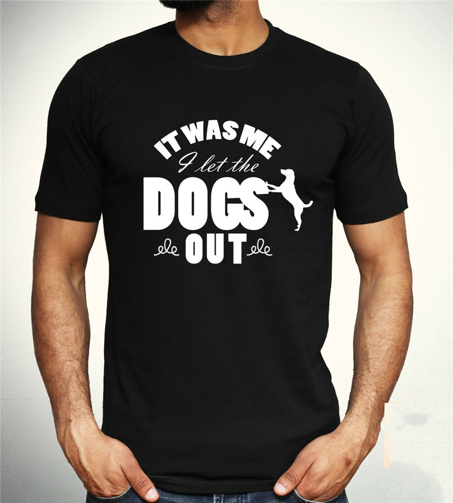 Who Let The Dogs Out Tops Tee T Shirt Funny Song Baha Men Slogan Joke Unisex Gift brand fashion T-Shirt image