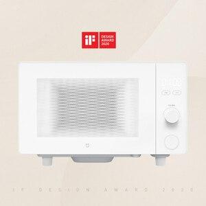 Image 2 - XIAOMI MIJIA kuchenki mikrofalowe piec do pizzy elektryczny piec kuchenka mikrofalowa do urządzenia kuchenne kuchenka powietrza Grill 20L inteligentna kontrola