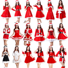 Christmas  Costumes for a Variety of Styles Santa Claus Costumes for Men and Women on Christmas Day Special Performance Costumes thinking styles and academic performance