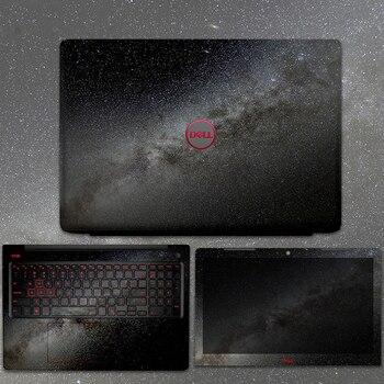 VTRONHYE-pegatina de vinilo con textura de cielo estrellado para portátil, película adhesiva para Dell Laptop G3 3500 3590 3579 G5/G7 5500 5590 7590