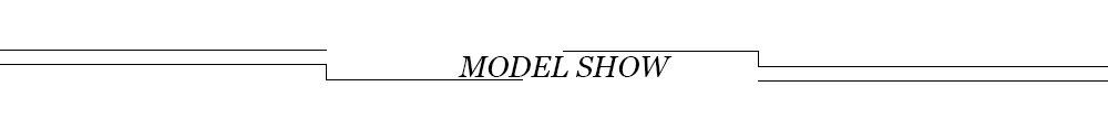 3 model shows