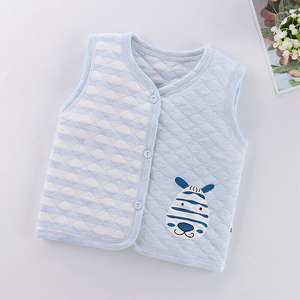 Outerwear Waistcoat Baby-Girls Winter Cotton 3M-5Y Vest Gilet Soft-Warmer Newborn Infant