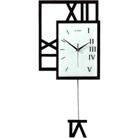 Big Size Swing Wall Clock Watch Home Living Room Large Wall Clock Study Room Fashion Decoration