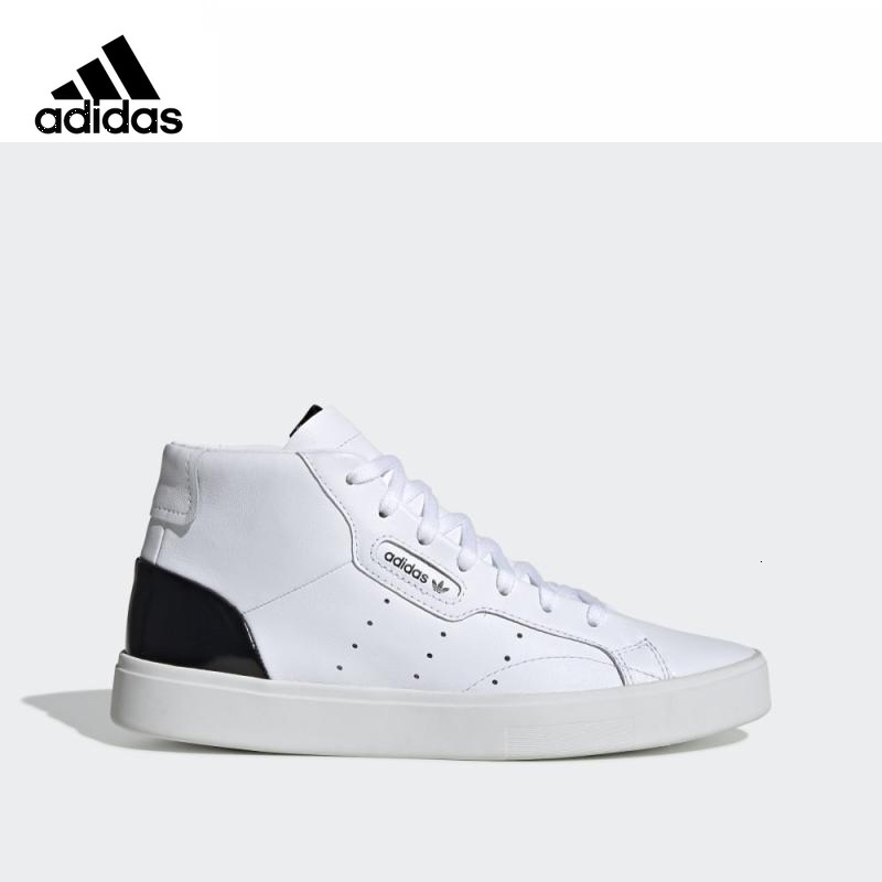 <font><b>Adidas</b></font> <font><b>Originals</b></font> 2019 SLEEK Man Skateboarding <font><b>Shoes</b></font> <font><b>Woman</b></font> Comfortable Outdoor Unisex Sneaker New Arrival# Ef0701 image