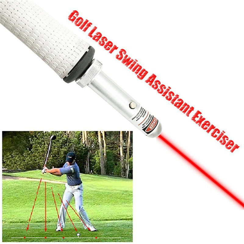 Golf Laser Pointer Golf Swing Training Aid Laser Corrector Swing Posture Indicator