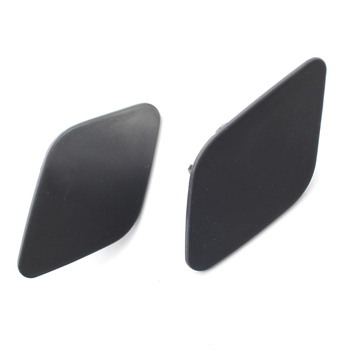 2Pcs Bumper Headlight Lamp Washer Cap Cover Fit For BMW X6 E71 2008 - 2014 Primary color (unpaint) image