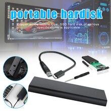 Конвертировать в USB Мобильный HDD Enclousure для 2,5 дюймовый SATA жесткий диск DJA99