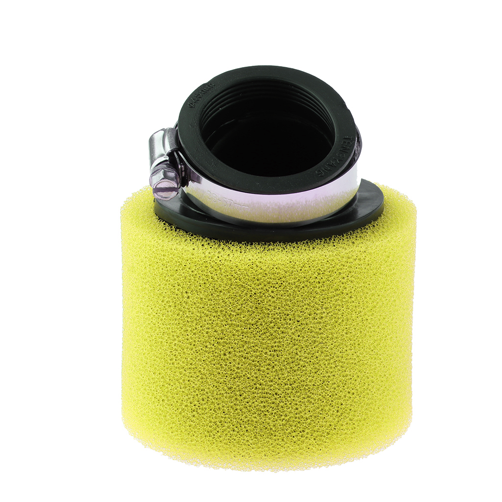 perfk Universal Motorcycle Foam Air Filter for Pit Quad Dirt Bike ATV Buggy 45mm Blue