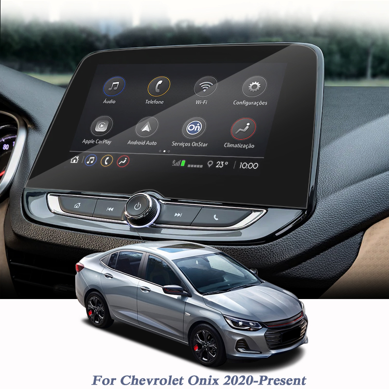 For Chevrolet Onix 2020-Present Car Styling Display Film GPS Navigation Screen Glass Protective Film Control Of LCD Screen