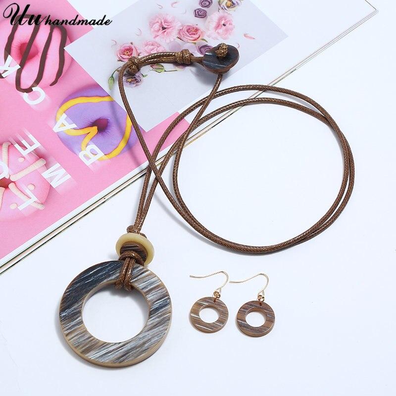 Купить женское длинное ожерелье массивное ювелирное изделие длинная