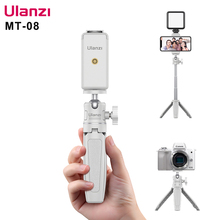 Ulanzi MT 08 SLR Camera Smartphone Vlog Tripod Mini Portable Tripod with Cold Shoe Phone Mount for iPhone Android