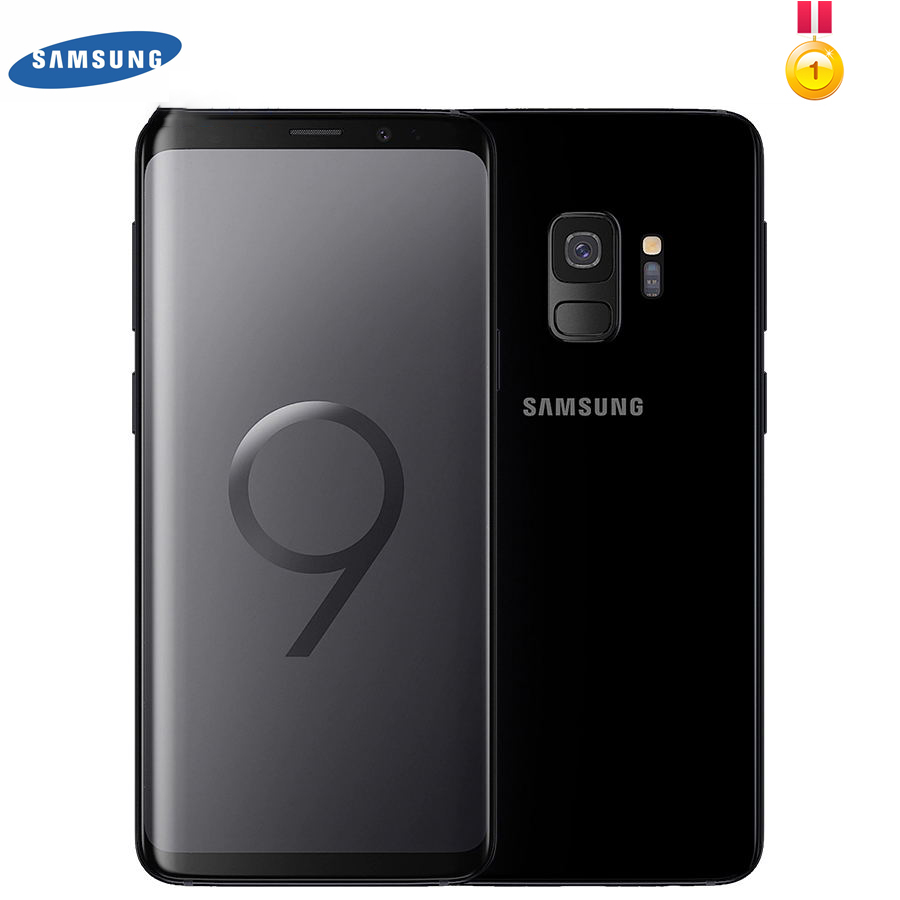 Samsung Galaxy S9 G960U G960F 3000mAhOriginal LTE Android Cell Phone Octa Core 5.8 12MP 4GB RAM 64GB ROM NFC Snapdragon 845 image