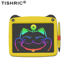 Writing-Tablet Erasable Digital Kids/child LCD TISHRIC for Colorful