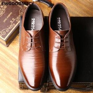 Image 5 - Sapatos de casamento para homens sapatos de casamento sapatos de homem italiano moda zapato formal hombre sapato social masculino scarpe uomo