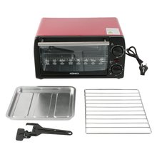 цена на Electric Oven Household Multifunctional 12L Mini Galvanized Sheet Baking Oven KAO-1208 1050W With Bakeware