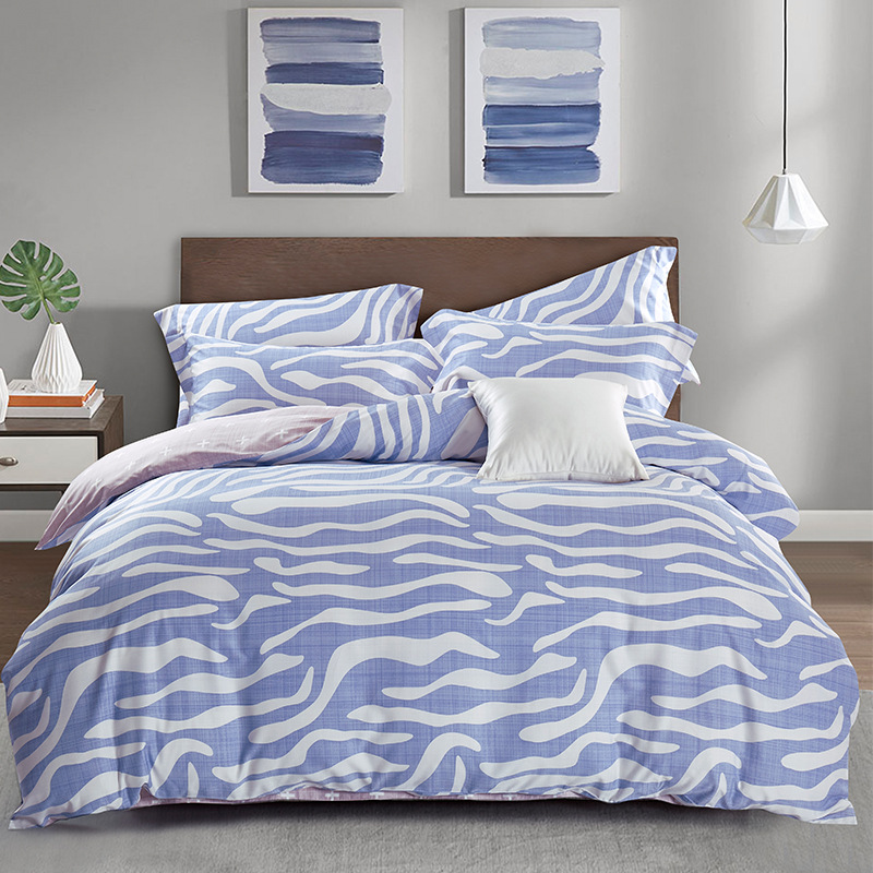 DOHIA Summer Bedding Four Sets Northern European-Style Tencel Jin Product Four-piece Set Summer Cool Kit Gift Wholesale