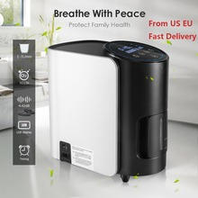 Oxygen Concentrator Oxygen-Generator-Machine Atomization Home No-Battery Adjustable TTLIFE