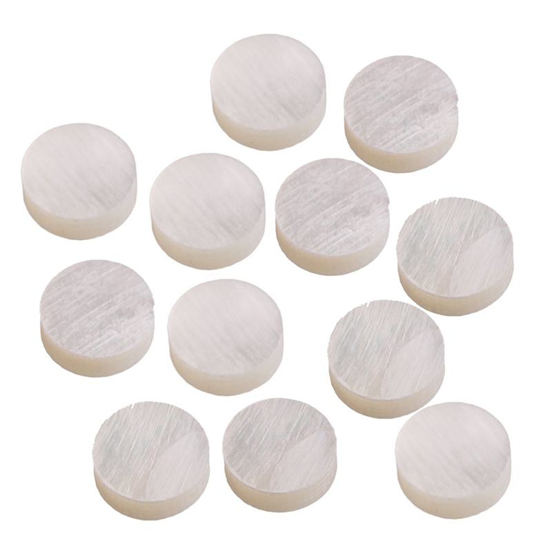 12 White Mother Of Pearl Luthier Dots Inlay Fret Side Marker 6mm