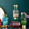 Makeup Brush Storage Bucket  Ins Desktop Decoration Acrylic Eyebrow Pencil Holder Eyeliner/eye Shadow Beauty Brush Storage Box