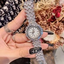 Fashion Women Full Crystals Jewelry Watches Luxury Rhineston