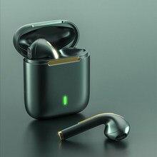 QHCMAX – écouteurs sans fil Bluetooth Fone TWS, oreillettes stéréo, intra-auriculaires, mains libres, pour AirPods