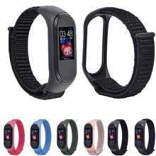 Colorful nylon Watchbands for Xiaomi mi band 4 replacement wriststrap xiaomi Mi Band 3 Breatherable smart bracelet accessory