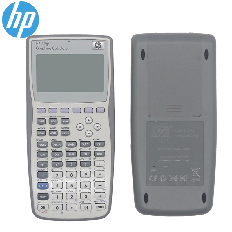 HP Handheld Calculator  39gs Student's Scientific Line Display Portable Multifunctional Calculator Original Graphics