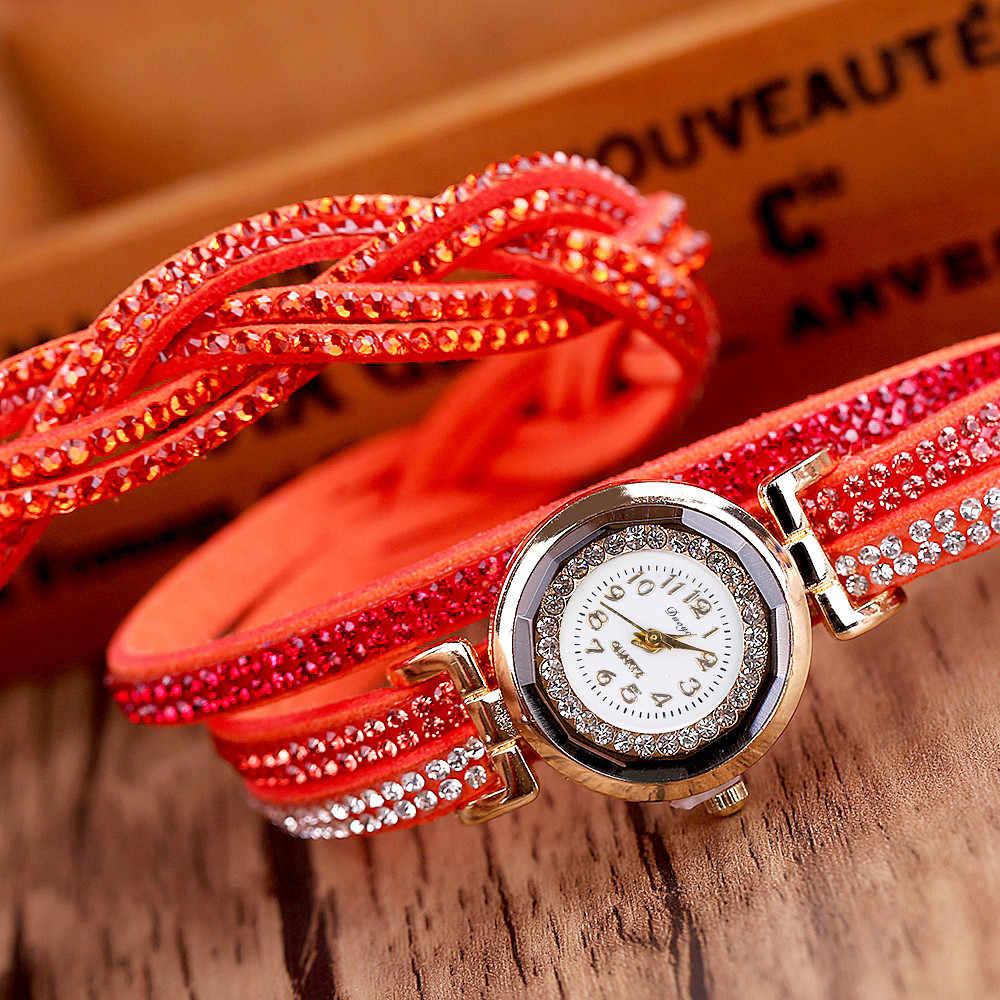 Alta Qualidade mulheres Bonitas relógios Das Mulheres de Cristal pulseira de Ouro relógio de Strass Relógios Pulseira de Relógio Para As Mulheres reloj mujer