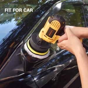 Image 5 - 11Pcs 3/4/5/6/ inch Waffle Buffer Polishing Pad Set For Car Polisher + Drill Adaptor M10 M14 Power Tools