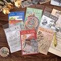 40 шт./1 партия, декоративные наклейки для оформления путешествий